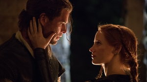 Chris Hemsworth and Jessica Chastain in The Huntsman: Winter's War