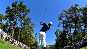 Rory McIlroy began Masters preperations in near perfect conditions
