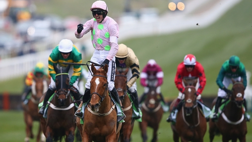 Ruby Walsh and Annie Power led the field home in the Cheltenham hurdling feature