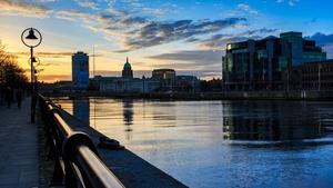 Sunset in Dublin (Pic: Michael Gissane)