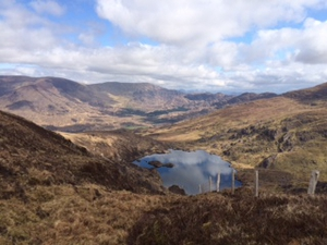 Coomnahorna lake, Caherdaniel, Co Kerry (Pic: Alan Cummins)