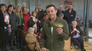 Eyes wide open - see how Nathan got on delivering lambs on RTÉ One's Big Week on the Farm
