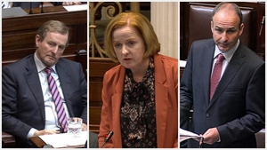 Enda Kenny, Ruth Coppinger and Micheál Martin were all unsuccessfully put forward