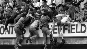 96 died during Liverpool FC's game against Nottingham Forest in 1989
