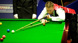 Gerard Greene's match against Jimmy White will finish tomorrow