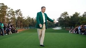 Billy Payne at Augusta National Golf Club