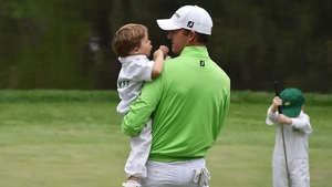 Jimmy Walker might take his kids on course a bit more after his record round