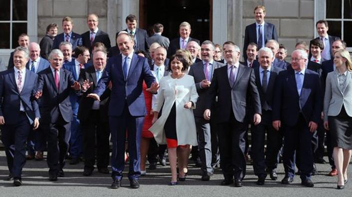 Fianna Fáil backbenchers react to Varadkar comments