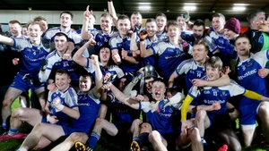 Monaghan celebrate their victory