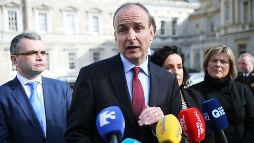 Micheál Martin said the past 24 hours had left a lot to be desired