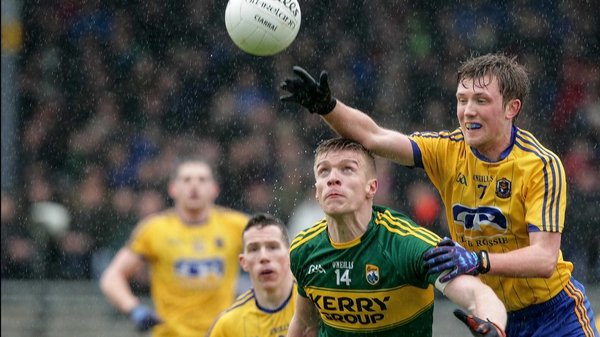 Kerry's Tommy Walsh with Ronan Stack of Roscommon