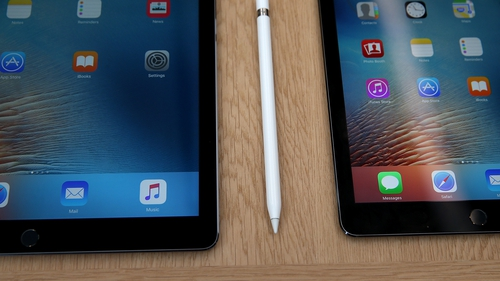 The iPad Pro 9.7 inch has an improved display and camera compared to the iPad Air 2