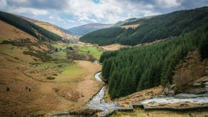 View from the top of the Glenmacnass Waterfall, Co Wicklow (pic: Larry Morgan)