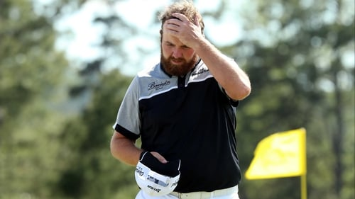 Shane Lowry admitted 'it was tough' afterwards