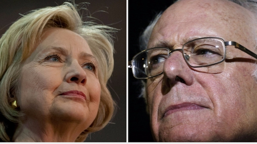 Hillary Clinton and Bernie Sanders have been engaged in some tetchy exchanges