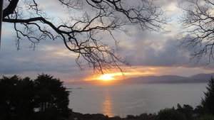 Sunset over Kenmare Bay (Pic: Deirdre Harbison)