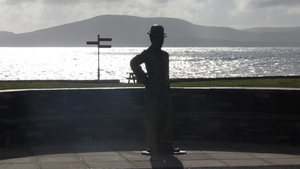 Yes that is Charlie Chaplin . . . in Waterville (Pic Sean O'Beirne)