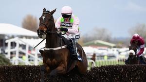 Douvan and Paul Townend jump the last en route to a facile success