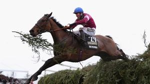 David Mullins and Rule The World en route to their Aintree triumph