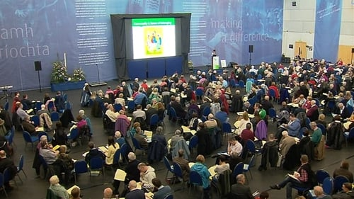 Many of the delegates at the synod in Limerick are lay people