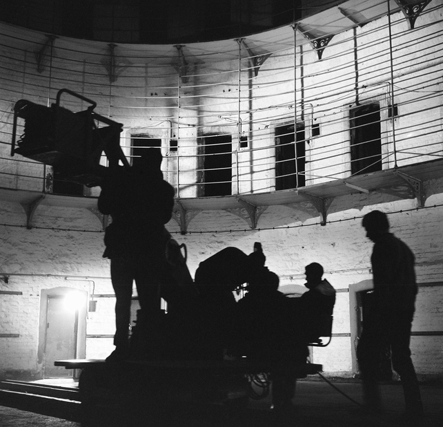 Discovery Camera Crew during filming of 'Ghosts of Kilmainham' (1966)