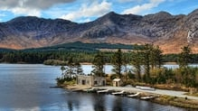 Lough Inagh boathouse (Pic: Robert Riddell)