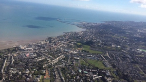 Dublin from the sky (Pic: James Trimble)