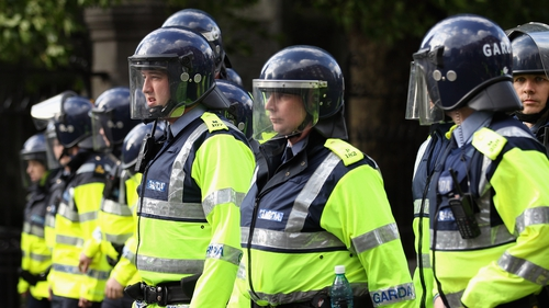 The AGSI says gardaí receive information on severe weather alerts but none on the current terrorist threat level