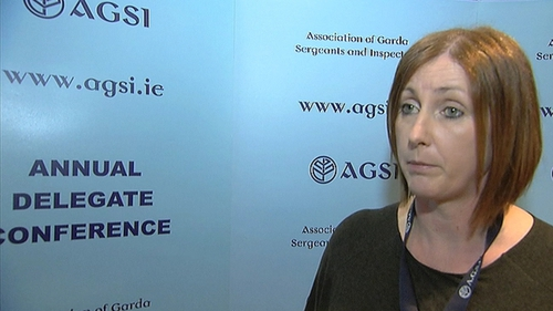 AGSI President Antoinette Cunningham accused the Government of reneging on promises on how to negotiate future garda pay