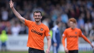 Gavin Gunning has waved goodbye to Dundee United for the second time