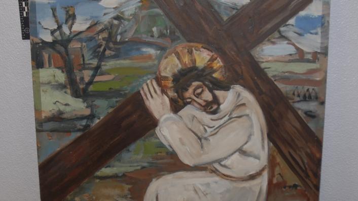 Stolen Evie Hone paintings found in wasteland