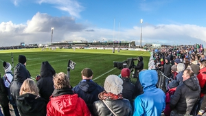 The Sportsground will see an increased capacity of 7,800 for the visit of Munster on Saturday evening.
