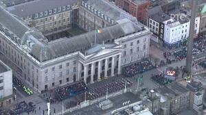 Clip 9: Bringing Dublin back to 1916 (Baile Átha Cliath a thabhairt siar go dtí 1916) - Wrecking the Rising