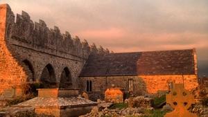 Sunset over Ardfert Cathedral, Co Kerry (Pic: Debora Tobin)