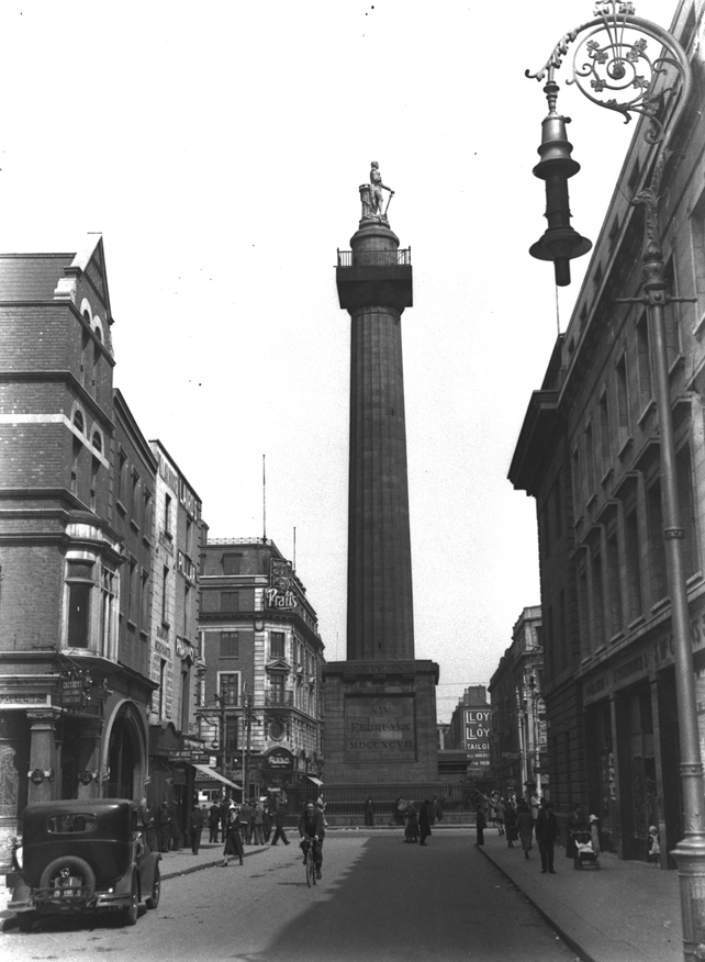The Nelson Pillar (date unknown)