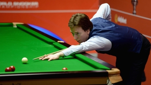 Ken Doherty missed out on the second round in Daqing