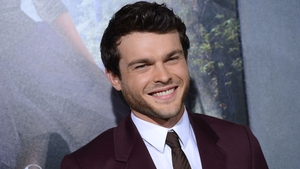 The new Han Solo, Alden Ehrenreich
