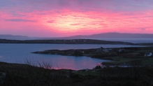 Barry Hayes captured this red sky over Cape Clear in west Cork