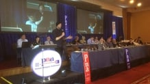 Mental health campaigner Bressie addressed the delegates in Cavan at the union's annual conference