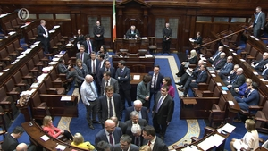 It was earlier agreed that the Dáil will rise tonight and return next Wednesday morning
