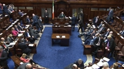 The vote will take place at 12pm in the Dáil