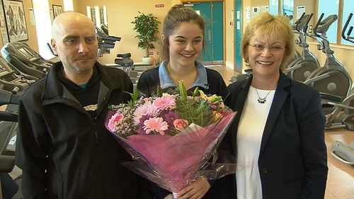 16-year-old Victoria Williams-Gaine performed CPR on Florin Popa after he collapsed on 23 March