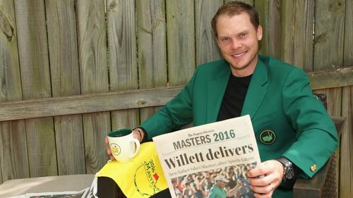 Masters champion Danny Willett
