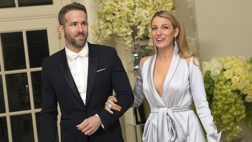 Ryan Reynolds with Blake Lively