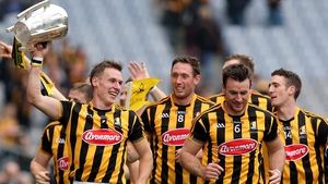 Kilkenny players celebrate 2015 All-Ireland victory