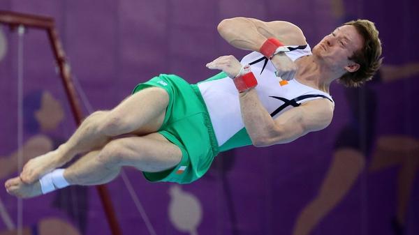 Kieran Behan is in action in Rio on Saturday