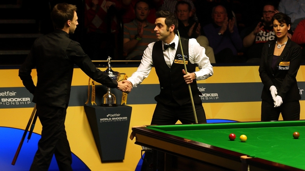 Ronnie O'Sullivan beat Judd Trump in the semi-final on the way to victory in 2013