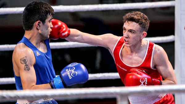Brendan Irvine faces a box-off for an Olympic place