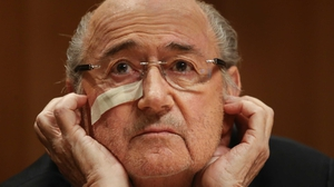 Sepp Blatter: 'We are working on this caseand looking forward for development.'