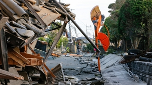 Two deadly earthquakes have brought factories in southern Japan to a grinding halt